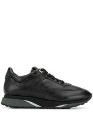 Santoni Classic Low Top Sneakers Black