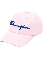 8e3b997b1 Embroidered Logo Cap Pink And Purple