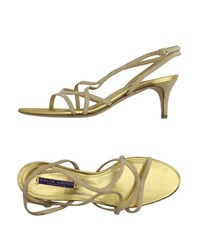 Ralph Lauren Collection Footwear Sandals Women Ivory