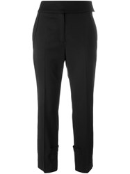 Dorothee Schumacher 'Cool Ambition' Cropped Trousers Black