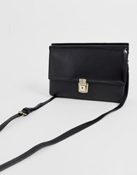French Connection Carina Clutch Bag Black