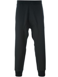 Neil Barrett Tapered Track Pants Black