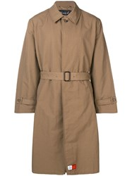 Martine Rose Oversized Coat Brown