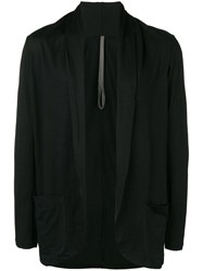 Attachment Loose Fit Cardigan Black