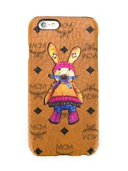 Mcm Printed Rabbit Iphone 6 Case Brown