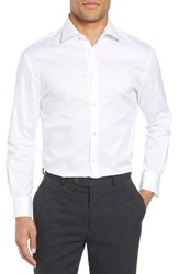 John Varvatos Star Usa Slim Fit Tuxedo Shirt White