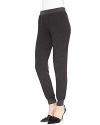 Atm Anthony Thomas Melillo Slim Cuffed Pull On Sweatpants Charcoal