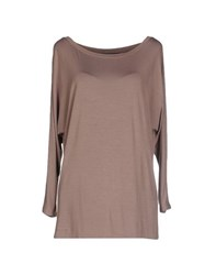 Ralph Lauren Topwear T Shirts Women Light Brown