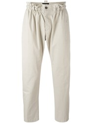 Dsquared2 Elasticated Waistband Trousers Nude Neutrals