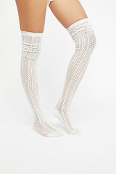 Free People Canberra Pointelle Tall Sock By