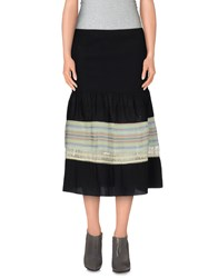 Custo Barcelona Skirts 3 4 Length Skirts Women Black