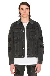 Helmut Lang Mr 87 Destroy Jacket Black