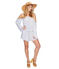 Blue Life Life's A Beach Romper Star Dust Women's Jumpsuit And Rompers One Piece White