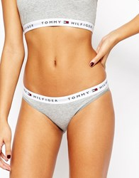 Tommy Hilfiger Iconic Bikini Brief Grey