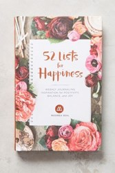 Anthropologie 52 Lists For Happiness Journal Pink