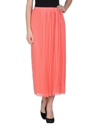 Poems Long Skirts Salmon Pink