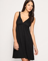 Seafolly Twisted Strap Dress Black
