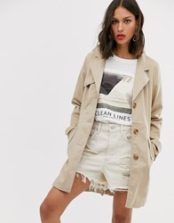 Only Trench Coat Beige