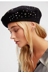 Free People Womens Suki Studded Beret