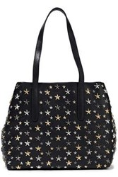 Jimmy Choo Woman Sofia Studded Leather Tote Black
