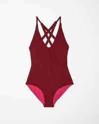Rachel Comey Dive Suit Wine