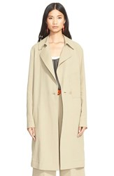 Cedric Charlier Women's Cedric Charlier Cotton Canvas Long Coat