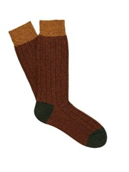 Pantherella Scott Nichol Burghley Socks Brown