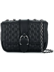 Longchamp Quilted Chain Strap Shoulder Bag Black