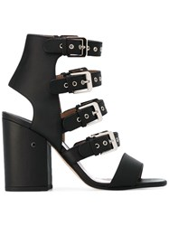 Laurence Dacade Ankle Length Sandals Black