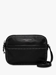 Liebeskind Berlin Stud Love Leather Camera Bag Black