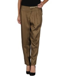 Hotel Particulier Casual Pants Military Green
