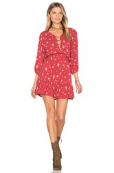 Auguste Gypsy Girl Play Dress Red