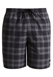 Adidas Performance Swimming Shorts Black Granit Grey