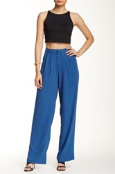 Romeo And Juliet Couture Wide Leg Pant Blue