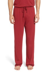 Polo Ralph Lauren Men's 'Supreme' Cotton And Modal Lounge Pants Ave Red Cruise Navy