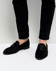 House Of Hounds Bain Tassel Loafers In Black