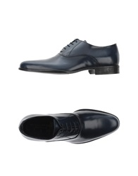 Ballantyne Lace Up Shoes Dark Blue