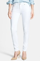 Big Star Alex Stretch Skinny Jean White