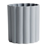 Hay Iris Round Pen Holder Grey