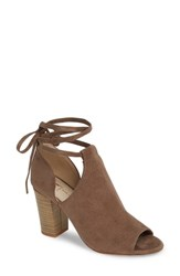 Bc Footwear Set Me Free Now Bootie Taupe V Suede