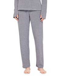 Cosabella Aosta Fleece Straight Leg Lounge Pants Anthracite