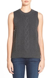 Paige 'Guinevere' Sleeveless Sweater Charcoal