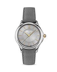 Salvatore Ferragamo Time Stainless Steel Automatic Watch 41Mm Silver Gray