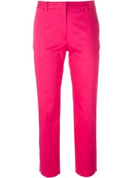 Paul Smith Black Label Capri Trousers Pink And Purple