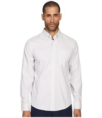 Jack Spade Palmer Stripe Button Down Blue Men's Clothing