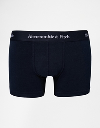 Abercrombie And Fitch Trunks With Logo Waistband Navy