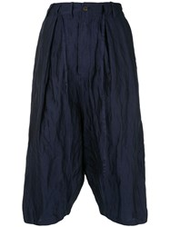 Forme D'expression Tailored Sarouel Trousers Blue