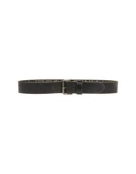 Frankie Morello Belts Steel Grey