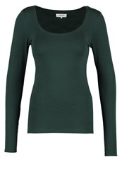 Zalando Essentials Long Sleeved Top Dark Green