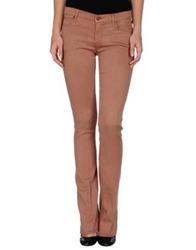 Mother Casual Pants Light Brown